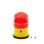 VR17160 - Żółte światło ostrzegawcze