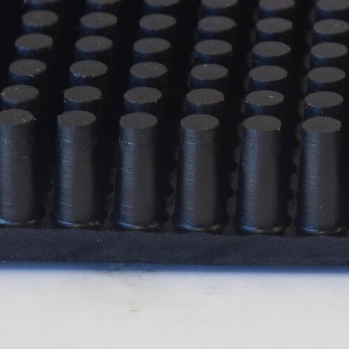 NOTRAX 345 Rubber Brush - Wycieraczka gumowa, mata wejściowa klasyczna wolno leżąca, przekrój