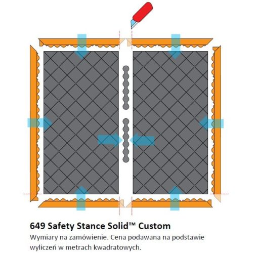 NOTRAX 649 Safety Stance Solid