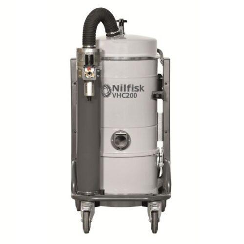 Nilfisk VHC200 - Odkurzacz przemysłowy pneumatyczny, na sprężone powietrze, front