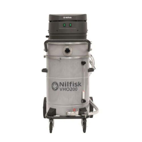Nilfisk VHO200 4010400037 - Odkurzacz przemysłowy do zbierania olejów i chłodziwa, front