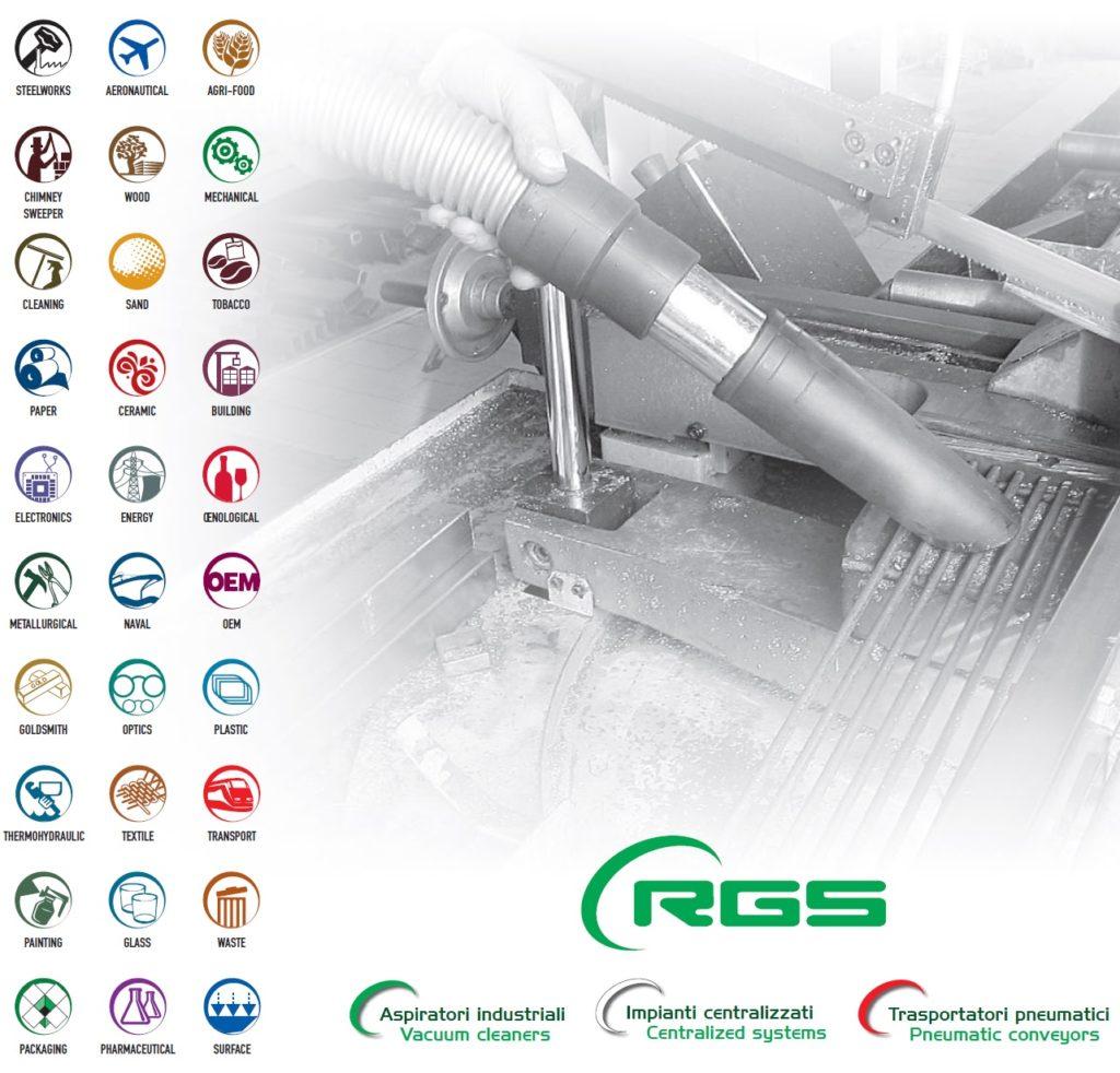 Odkurzacze przemysłowe RGS
