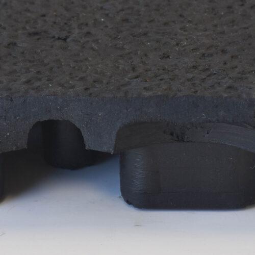 NOTRAX 556 Cushion Ease Solid - Mata podłogowa przemysłowa modułowa, antyzmęczeniowa, ergonomiczna, przekrój