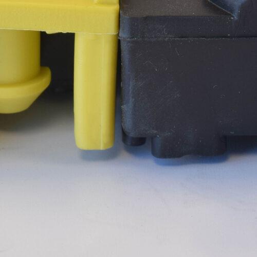 NOTRAX 620 Diamond Flex Lok - mata modułowa, podest PCV, moduły, duże obciążenia, przekrój