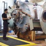NOTRAX 621 Diamond Flex Lok Solid - Podest PCV, mata przemysłowa modułowa, moduły, chodnik przemysłowy, przemysł