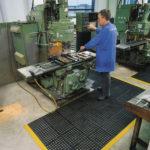 NOTRAX Seria Cushion Ease - Maty modułowe z drenażem, antyzmęczeniowe, moduł, przemysł