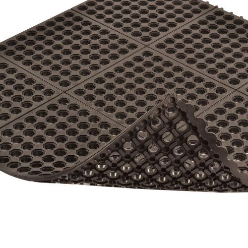 NOTRAX Seria Cushion Ease - Maty modułowe z drenażem, antyzmęczeniowe, spód