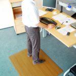 NOTRAX 478 Softone - Mata antyzmęczeniowa, podkładka, wzór drewna, stanowiskowy dywanik