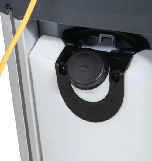 Nilfisk SC100 E 107408100, 107408103 - Mikroautomat szorująco-zbierający, szorowarka, zbiornik na czystą wodę
