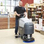 Nilfisk SC401 - Automat szorujący, sklep, supermarket