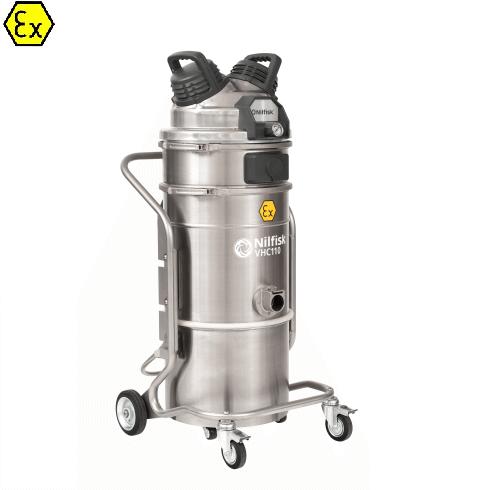 Nilfisk VHC110 Z1 EXA XXX - Odkurzacz pneumatyczny w wykonaniu Ex, ATEX, antywybuchowy