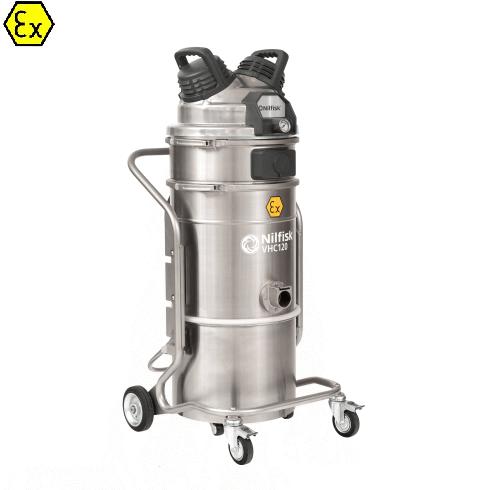 Nilfisk VHC120 Z1 EXA XXX - Odkurzacz przemysłowy pneumatyczny Ex, ATEZ Z1, na sprężone powietrze
