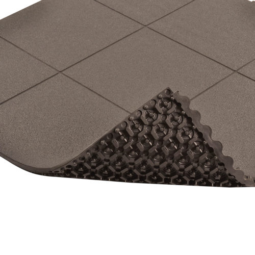 NOTRAX 558 Cushion Ease Solid ESD - Mata podłogowa przemysłowa modułowa, antyzmęczeniowa, ergonomiczna, spód