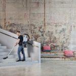 Nilfisk GD5 HEPA EU 107417934, 107417935 - Odkurzacz plecakowy, odkurzanie schodów