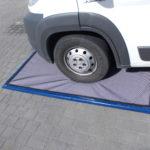 Mata dezynfekcyjna przejazdowa, uniwersalna, dla pojazdów