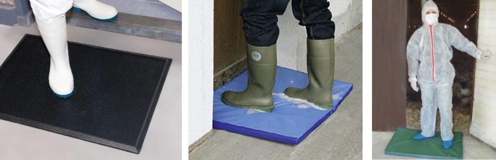 Maty dezynfekcyjne do obuwia
