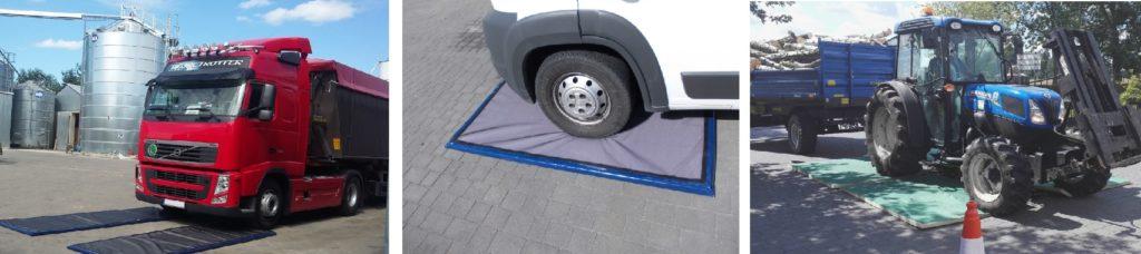 Maty dezynfekcyjne przejazdowe (dla pojazdów)