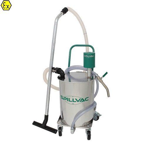 SPILLVASPILLVAC® ATEX PressOut - odsysacz cieczyC ATEX PressOut - Odkurzacz pneumatyczny do cieczy z odpompowywaniem