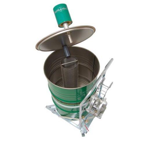 SPILLVAC PompOut - Odkurzacz beczkowy z pompą zwrotną, wnętrze