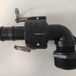 Spillvac Basic - podłączenie węża do beczki