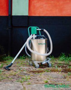 Spillvac PressOut - odkurzacz pneumatyczny do oleju