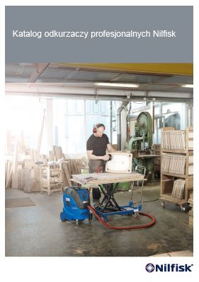 SOdkurzacze niebieskie Nilfisk - katalog www.ulpa.com.pl