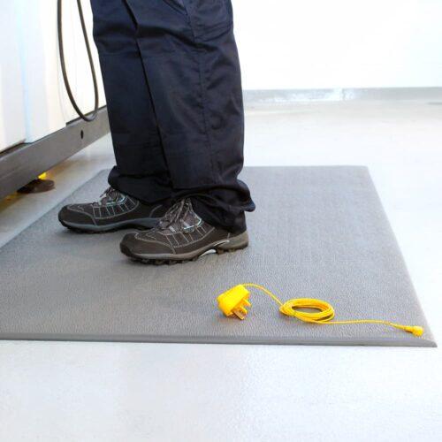 COBAstat - mata podłogowa ergonomiczna, antystatyczna (ESD)