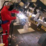 NOTRAX Cushion Ease Solid Nitrile GSII FR - mata na stanowiska spawalnicze