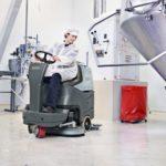 Nilfisk BR652, BR752 - Samojezdna maszyna czyszcząca do przemysłu