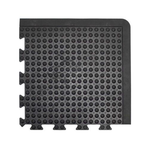 COBA Bubblemat Connect - moduł narożny czarny