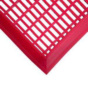 COBA Leisure Mat - Bezpieczna mata z PCV do obiektów rekreacyjnych, czerwona