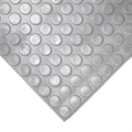 COBAdot - uniwersalna gumowa wykładzina podłogowa, szara