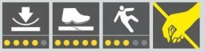 COBA Deckplate Anti-Static - ikonki