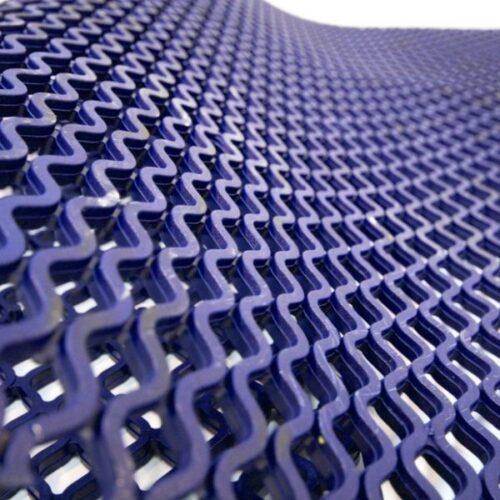 COBA Diamond Grid - mata basenowa higieniczna, niebieska