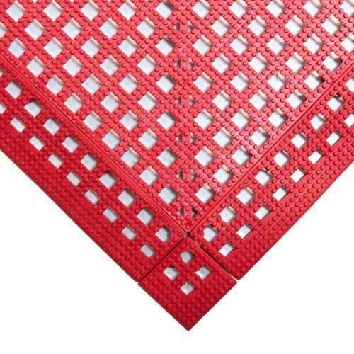 COBA Flexi-Deck - mata higieniczna, czerwona