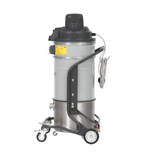 Nilfisk VHS110 Z22 EXA H IS - Odkurzacz Ex do pyłów reaktywnych z separatorem olejowym, bok