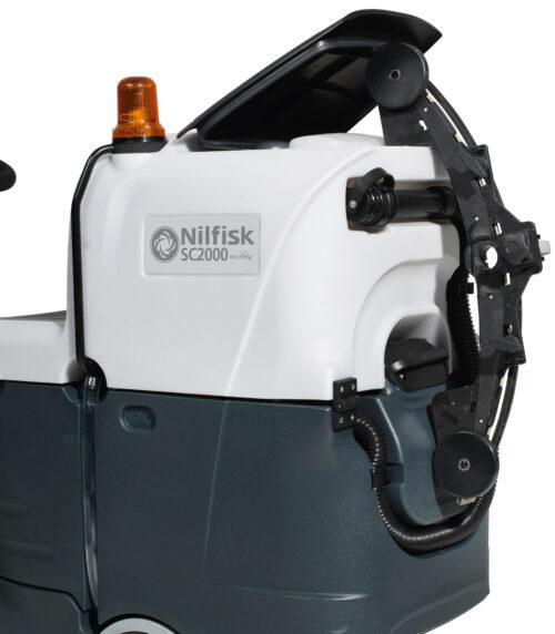 Nilfisk SC2000 - uchwyt na odwieszenie ssawy po pracy