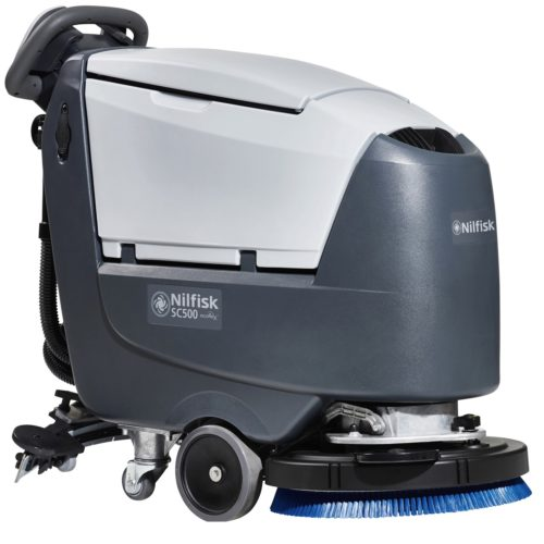 Nilfisk SC500 - Bateryjny automat do mycia podłóg