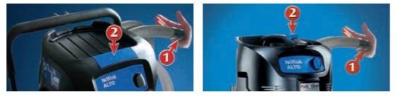 Ręczny otrząsacz filtra