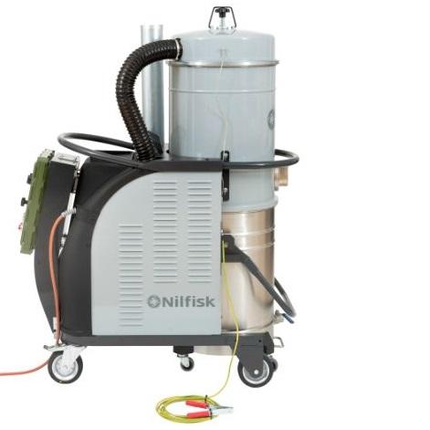 Nilfisk CTT40 IECEx - wersja specjalna, odkurzacz bezpieczny