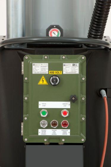 Nilfisk CTT40 IECEx - wersja specjalna, panel sterowania