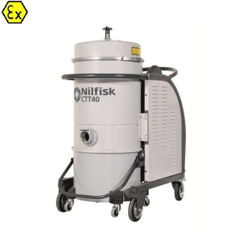 Nilfisk CTT40 Z1 EXA - odkurzacz antywybuchowy do strefy gazowej ATEX, wykonanie Ex