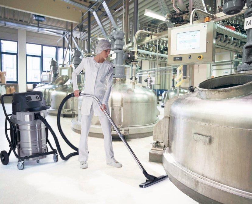 Odkurzacze przemysłowe do pyłów