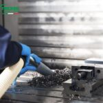 Odkurzanie wiórów aluminiowych